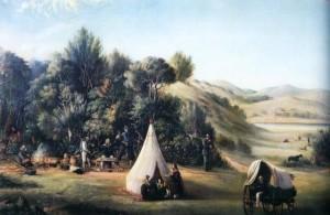Jagtselskab i kolonierne