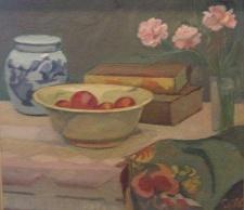Æbler indgår i dagens søndagsmiddag. Motivet er fra 1931.